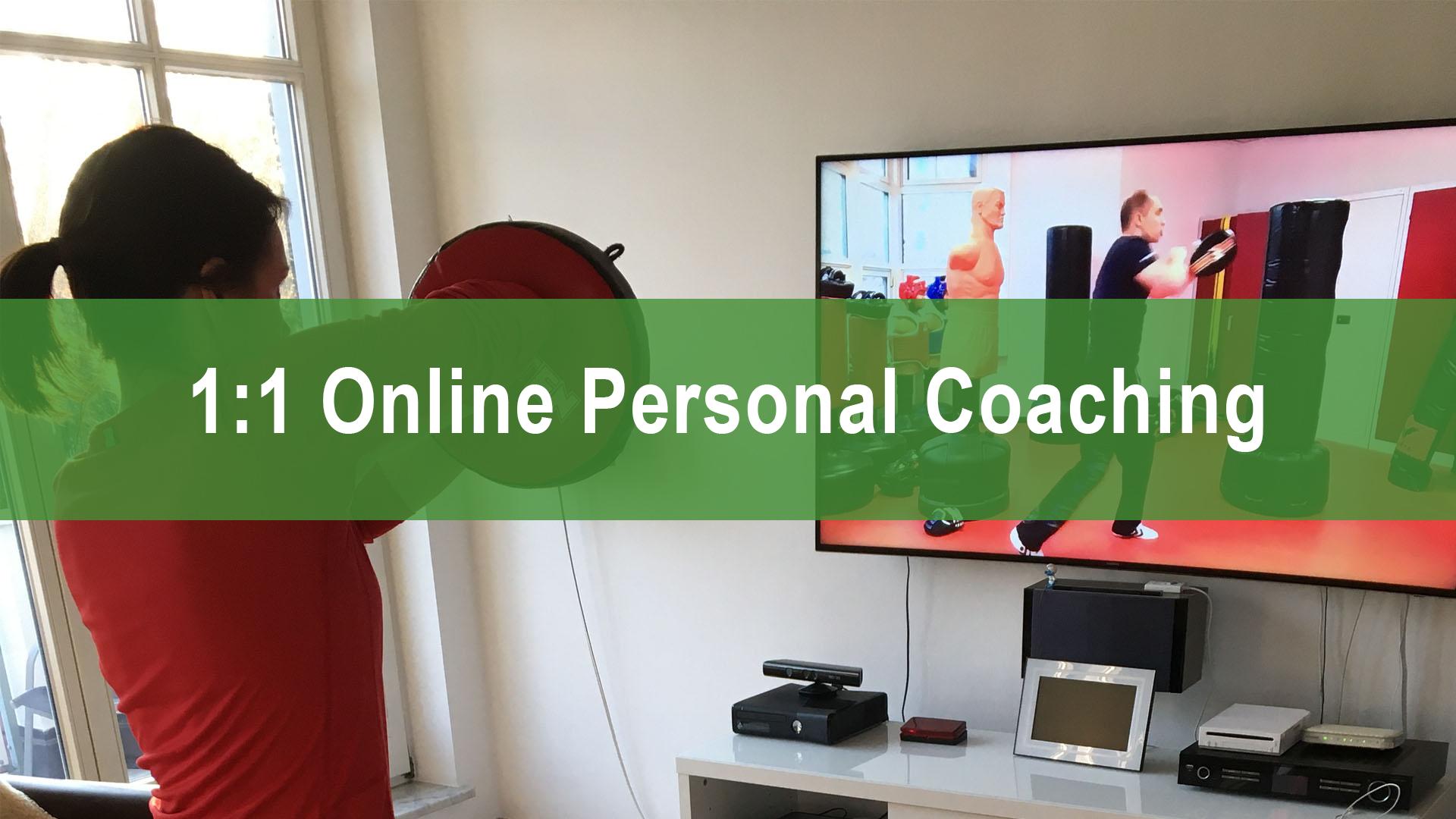 1:1 Selbstverteidigung Online Coaching - Marcel Descy